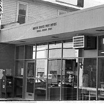 Image of N35.352 - REMARKS:First known as Riddle's when it opened on October 11, 1882, the name was shortened to Riddle on June 15, 1910, and the office has been in continuous operation since its opening. First postmaster was James D. Johnson, and Robert Dort is currently serving in that post.  OBJECT DATE:September 26, 1975