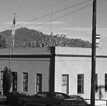 Image of N35.371 - REMARKS:Glendale, OR city hall.  OBJECT DATE:September 26, 1975
