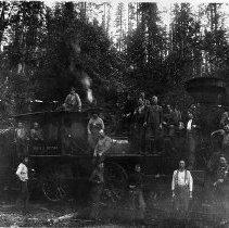 "Image of N3631 - REMARKS:Locomotive #2, ""North Bend"", Coos county logging railroad."