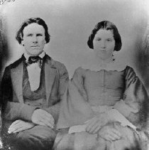 Image of N3793 - REMARKS:Dr. Madison Canaday and Sarah (Abbott) Canaday. Pioneer doctor in Rice Hill region.
