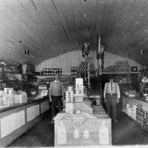 Image of N4797 - REMARKS:Hans Sornes Store (Grocery), Reedsport. Interior view.