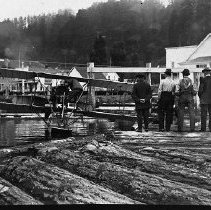 Image of N531 - REMARKS:2 negs. seaplane at Gardiner, Or 1916