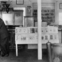 Image of N5670 - REMARKS:Interior of drug store, Gardiner, Or.