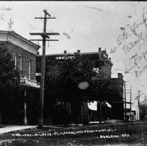 Image of N5730 - REMARKS:North side of Locust Street looking east from Front Street, Oakland, Or.