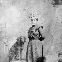 Image of N6739 - REMARKS:Lottie, daughter of Chief Jackson, Coos Indian.