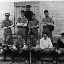 Image of Baseball Team, Canyonville, OR
