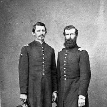 Image of N874 - REMARKS:Lt. David C. Underwood. Fort Klamath, OR. Civil War period.