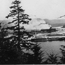 Image of N925 - COUNT:2  REMARKS:Winchester sawmill, Reedsport, Or.  OBJECT DATE:ca 1905