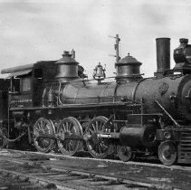 Image of Railroad Engine, Coos Bay, OR