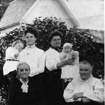 Image of Scott family, five generations