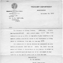 Image of Letter to E.E.Redfield