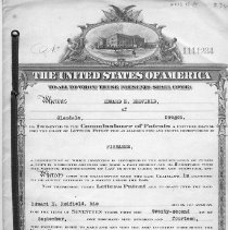 Image of Redfield firearms patent Sept. 22, 1914
