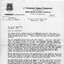 Image of J. Stevens Arms Letter (1)