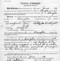 Image of Tuition contract