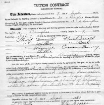 Image of Tuition contracts
