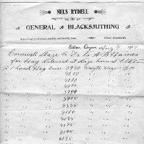 Image of Nels Rydell General Blacksmithing