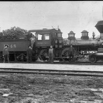Image of N1930 - REMARKS:S.P. Engine 1248, woodburner. (One scratched neg.; one good neg.)