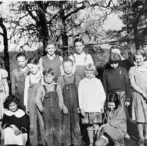 Image of N7688 - REMARKS:Cleveland School Group, January 1936.  OBJECT DATE:January 1936