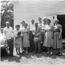 Image of Lenore Anderson among the group