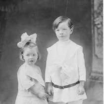 Image of George Wilcox and sister