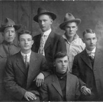 Image of Homer Robinet (back row 3 from left)