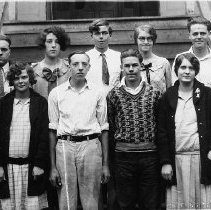 Image of Merrill Bullock (2nd from left, front row)