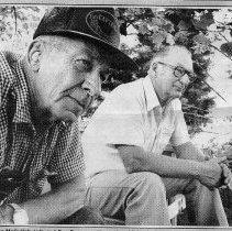 Image of Bob Sporer on right