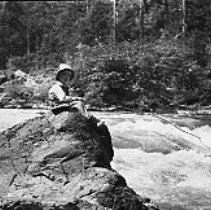 Image of Henry Weber fishing