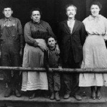 Image of Albert Pelland family
