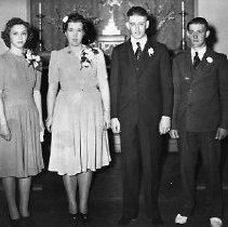 Image of Gerald & Doris Bacon wedding