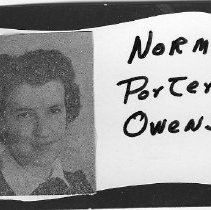 Image of Norma Porter Owens