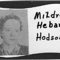 Image of Mildred Hebard Hodson