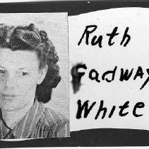 Image of Ruth Cadway White