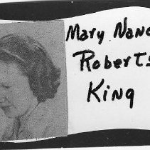 Image of Mary Nancy Roberts King
