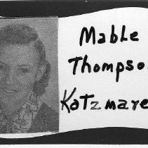 Image of Mable Thompson Katzmarek