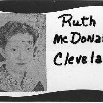 Image of Ruth McDonald Cleveland