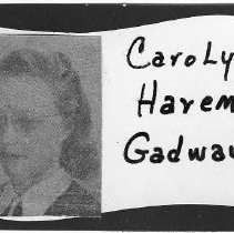 Image of Carolyn Harem Gadway