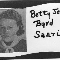Image of Betty Jean Byrd Saari