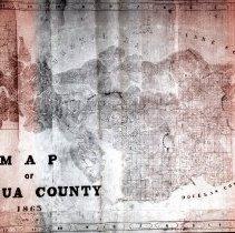 Image of Map of Umpqua County 1863