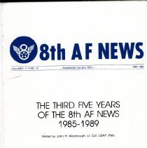 Image of 8th AF News established January 1975.