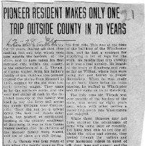 Image of Pioneer resident