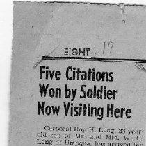 Image of Five Citations