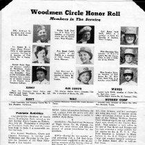 Image of Woodman Circle Honor Roll
