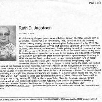 Image of Ruth D.Jacobsen