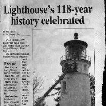 Image of Lighthouse's 118-year celebration
