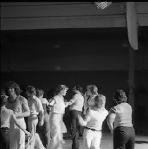 Image of N35.1066 - REMARKS:Disco dancing at Douglas County Fairgrounds, May 16, 1979.,  OBJECT DATE:May 16, 1979