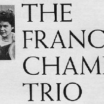 Image of Francesco Chamber Trio