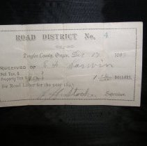 Image of 68.96.12 - tax receipt