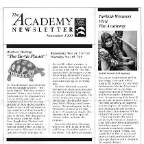 Image of Academy Newsletter