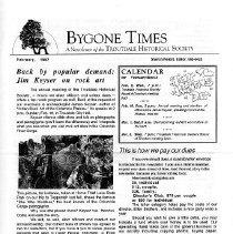 Image of Bygone times